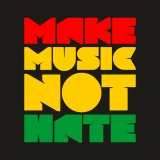Mikina zip MAKE MUSIC NOT HATE