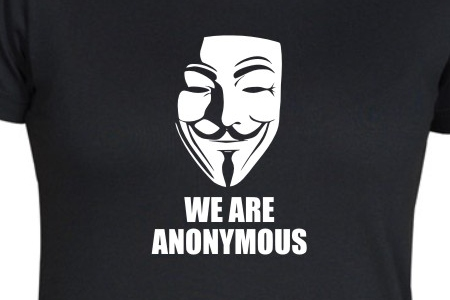 Dámské Triko We Are Anonymous