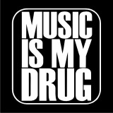 Dámské Triko Music is my drug